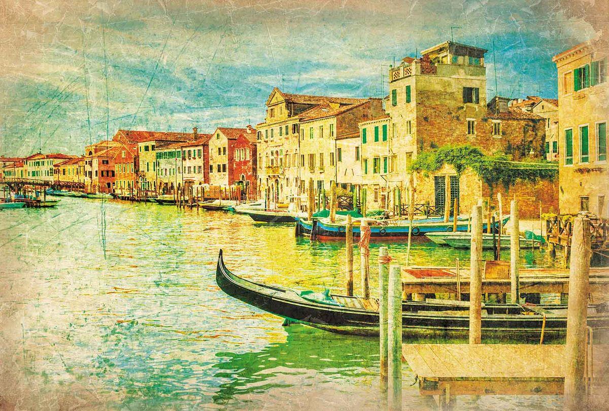 Фотообои Milan Фреска. Венеция, текстурные, 200 х 135 см. M 632 фотообои milan мостик у цветущей вишни текстурные 200 х 135 см m 629
