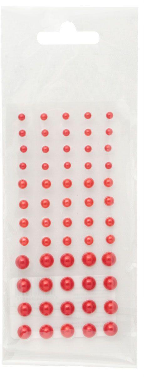 Полужемчужины клеевые Кустарь, цвет: красный, 3-6 мм, 60 штAM549008Клеевые полужемчужины Кустарь, изготовленные из пластика, позволят украсить фотоальбом, скрап-странички, открытки, подарочные коробки, а также элементы одежды. Камни оригинального и яркого дизайна круглой формы фиксируются при помощи специальной клейкой основы.Украшение жемчужинами поможет сделать любую вещь оригинальной и неповторимой.Диаметр: 3-6 мм.