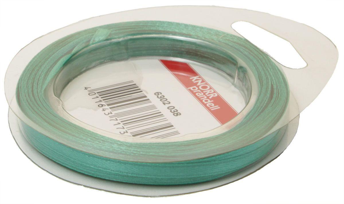 Лента декоративная Heyda, цвет: бирюзовый, 3 мм х 10 м2163020-38Атласная декоративная лента Heyda применяется для декорирования.Ширина ленты: 3 мм.Длина ленты: 10 м.