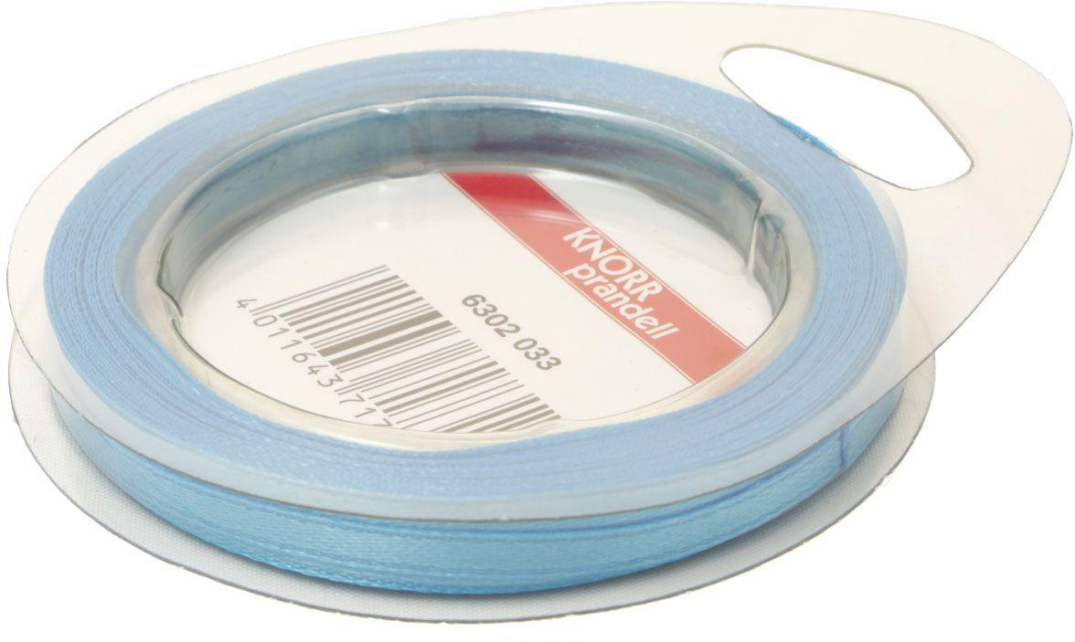 Лента декоративная Heyda, цвет: голубой, 3 мм х 10 м2163020-33Атласная декоративная лента Heyda применяется для декорирования.Ширина ленты: 3 мм.Длина ленты: 10 м.
