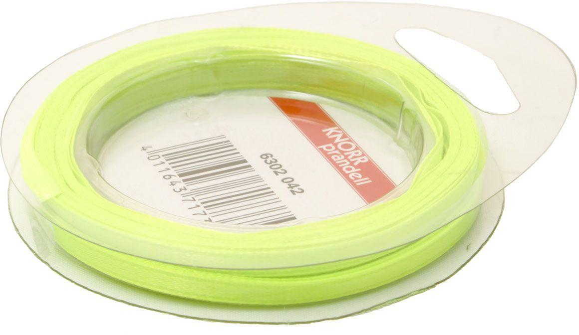 Лента декоративная Heyda, цвет: зеленый неон, 3 мм х 10 м2163020-42Атласная декоративная лента Heyda применяется для декорирования.Ширина ленты: 3 мм.Длина ленты: 10 м.