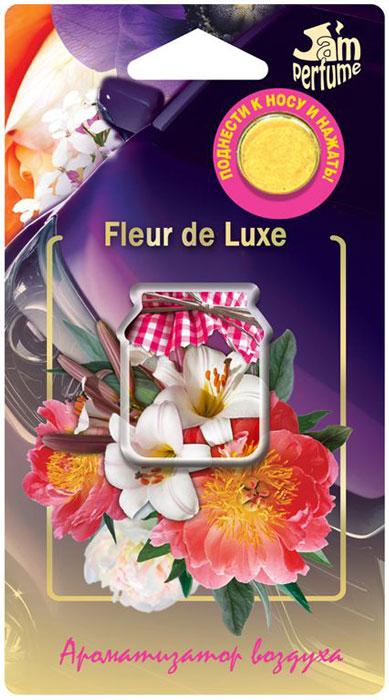 Ароматизатор Fouette Jam perfume. Fleur de Luxe, мембранныйJ-13Уникальность ароматизатора Fouette Jam perfume. Fleur de Luxe, заключается в применении инновационной мембранной плёнки со специальными микропорами. Данная технология позволяет мембране эффективно пропускать ароматические вещества парфюма, оставляя при этом жидкость отдушки внутри.В ароматизаторе Fouette этой серии используется премиальная, профессиональная отдушка высшего качества. Использование другой отдушки, приводит к закупориванию пор в мембранной плёнке.В процессе производства мембрана покрывается специальной металлизированной плёнкой, которая препятствует выделению аромата до начала эксплуатации.