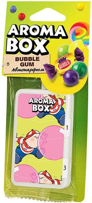 Ароматизатор подвесной Fouette Aroma Box. Bubble GumВ-19Подвесной автомобильный ароматизатор салона Fouette Aroma Box. Bubble Gum помогает создавать комфортную атмосферу для водителя ипассажиров. Ароматизатор отличается приятным ароматом, а также стильным дизайном упаковки. Он эффективно заглушает неприятные запахи в салонеавтомобиля (резина, пластмасса, бензин, табачный дым и т.д.)