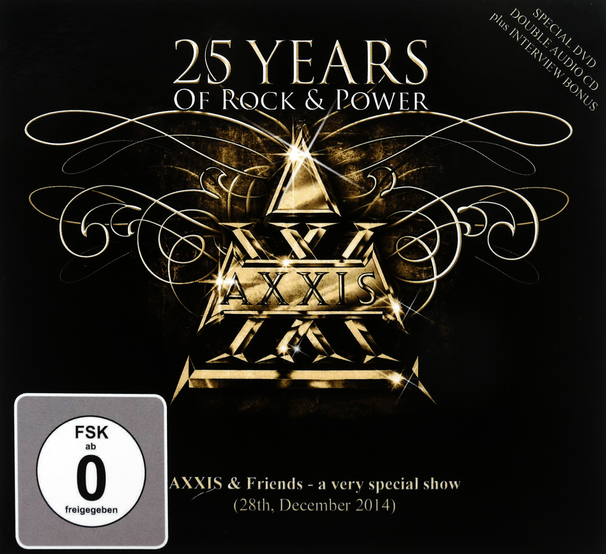 Axxis Axxis. 25 Years Of Rock And Power ( 2 CD + DVD)