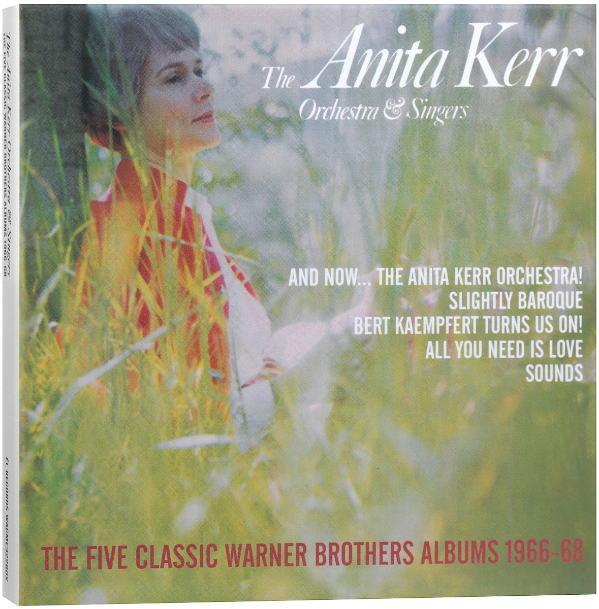 The Anita Kerr Orchestra,Anita Kerr,The Anita Kerr Singers The Anita Kerr Orchestra & Singers. The Five Classic Warner Brothers Albums 1966-68 (5 CD) dental kerr finishing polishing assorted kit cup brushes