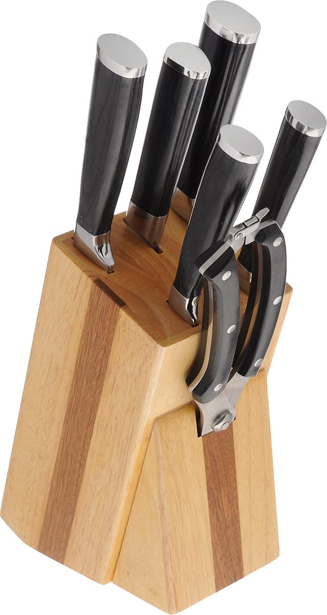Набор ножей Marvel Profession Knives Series, на подставке, 7 предметов. 31221 нож хлебный retro длина лезвия 20 см