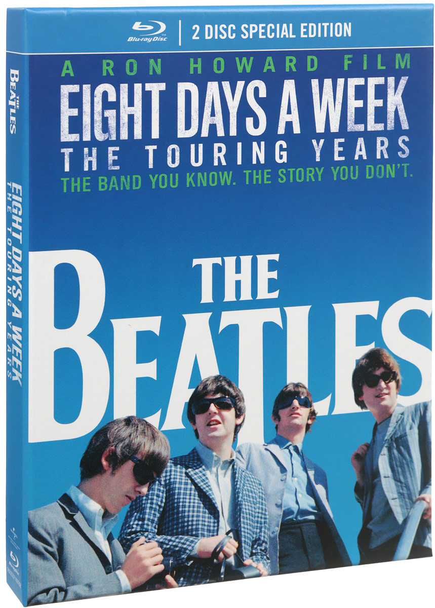 The Beatles: Eight Days A Week: The Touring Years. Special Edition (2 Blu-ray) casual style days of the week pattern cotton socks for men black