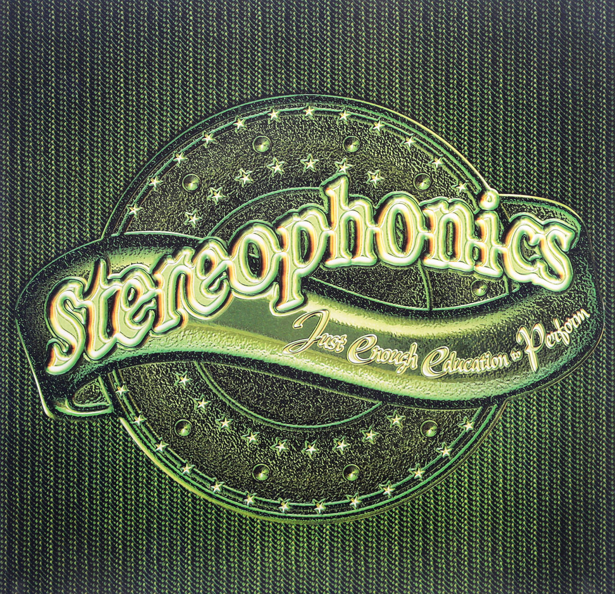 Stereophonics Stereophonics. Just Enough Education To Perform (LP) poems to perform