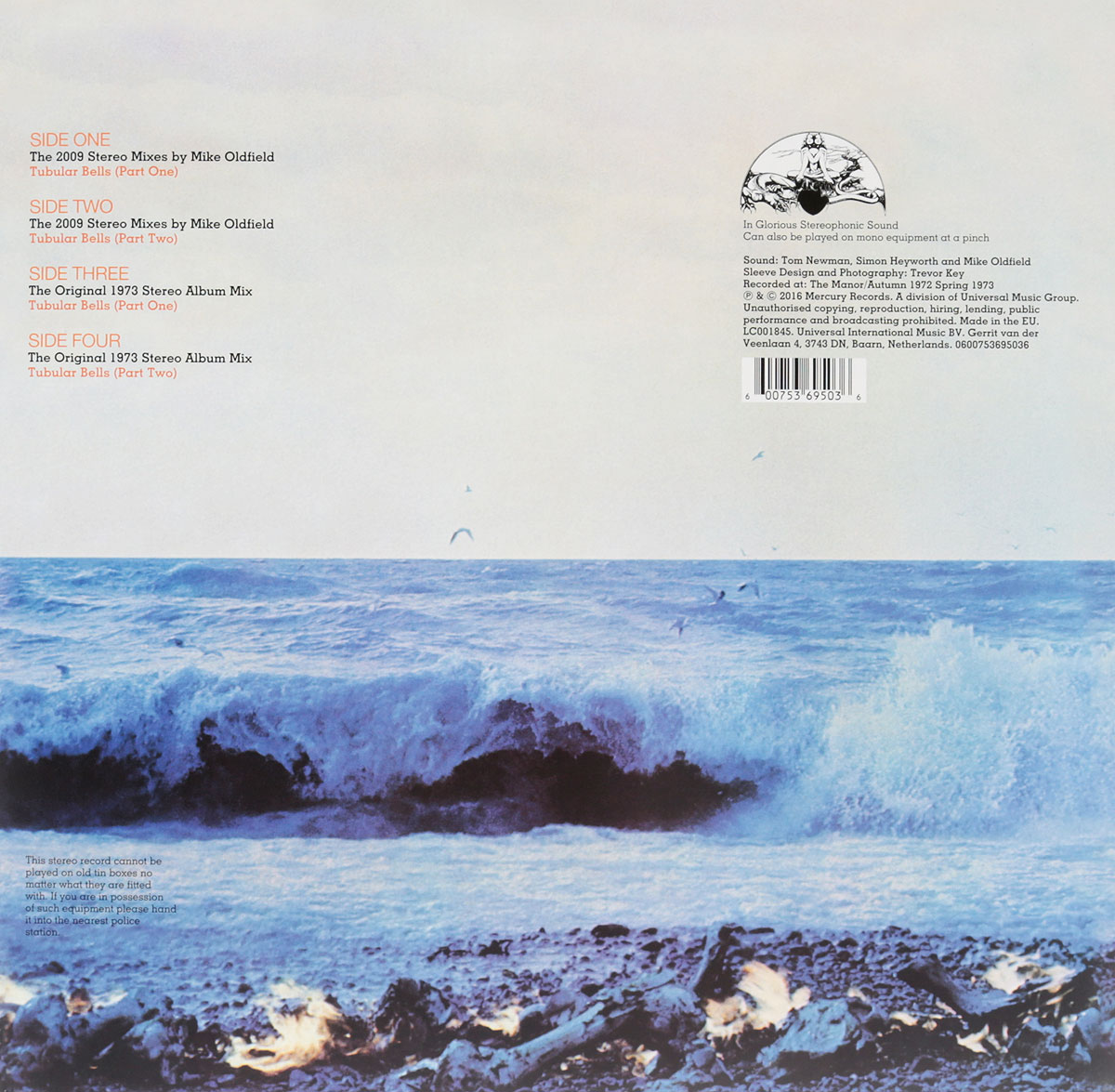 Mike Oldfield.  Tubular Bells.  Deluxe Edition (2 LP) ООО