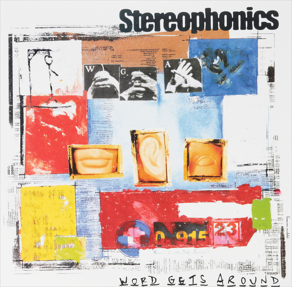 Stereophonics Stereophonics. Word Gets Around (LP) roxy music roxy music the studio albums limited edition 8 lp