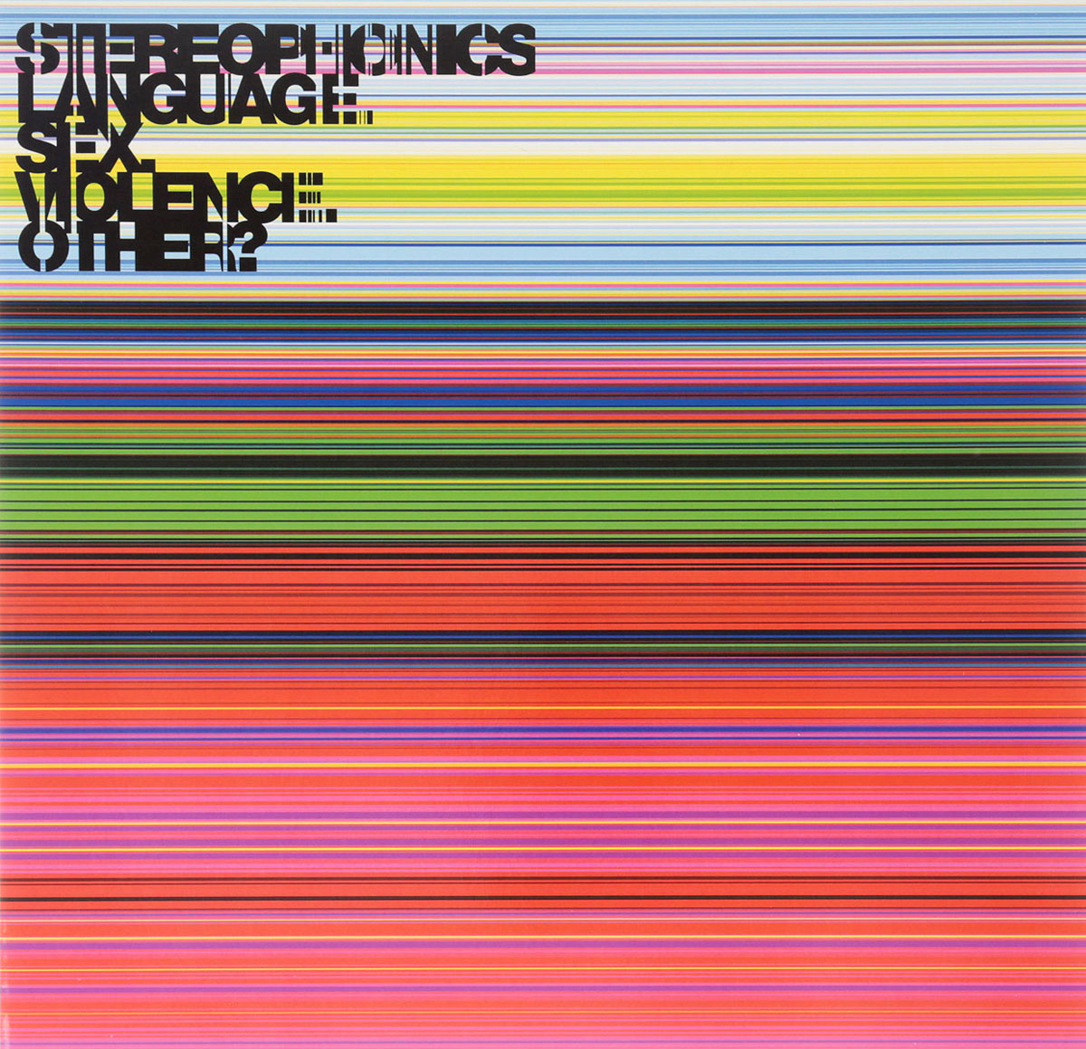 Stereophonics Stereophonics. Language. Sex. Violence. Other? (LP) other 1 24 6 70g 4a sku 01 511066141