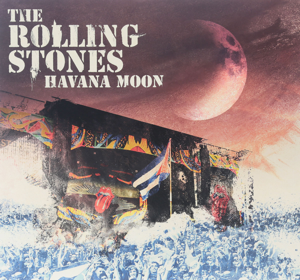 The Rolling Stones The Rolling Stones. Havana Moon (2 LP + DVD) sympathy