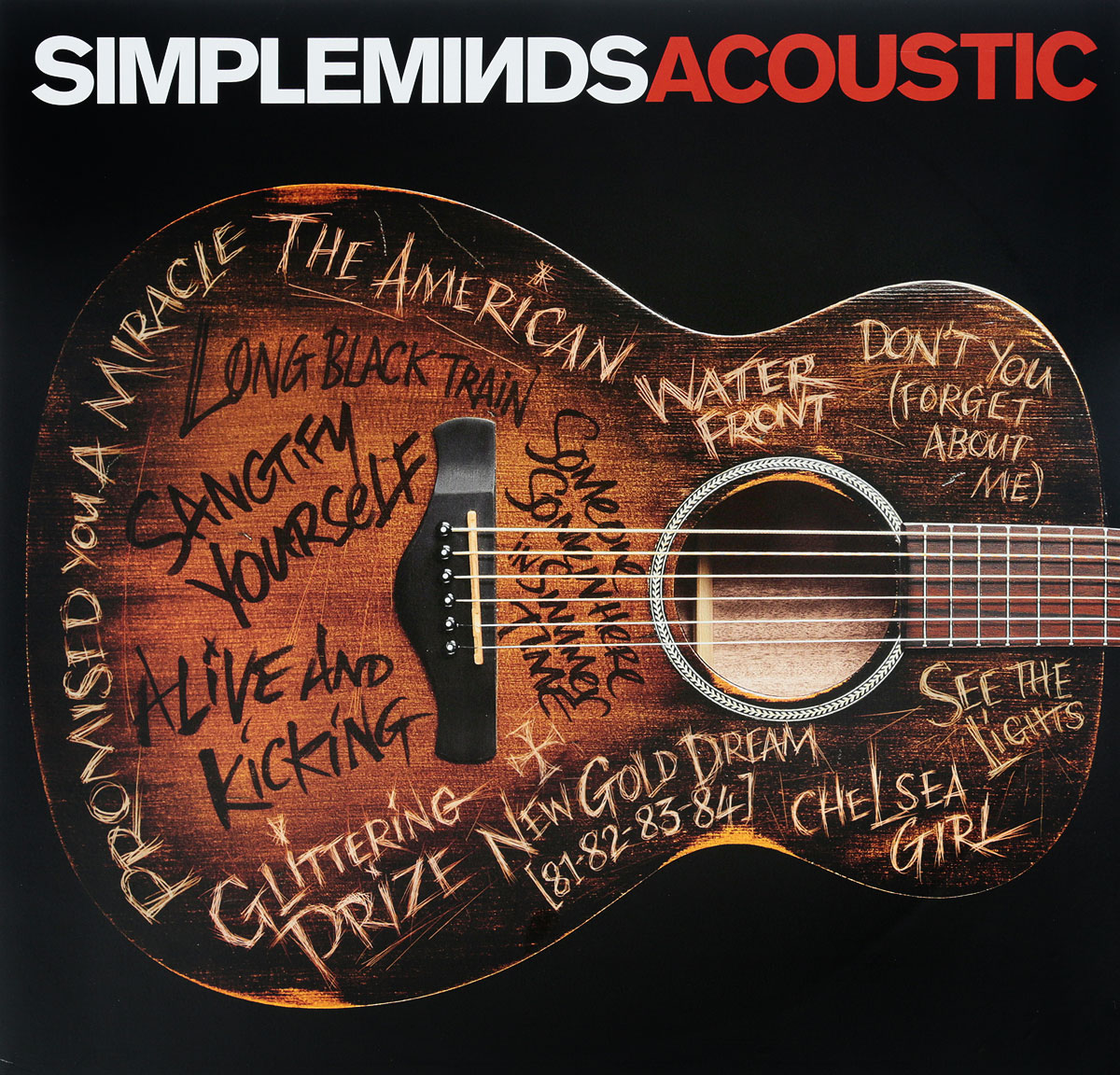 Simple Minds Simple Minds. Acoustic (2 LP) simple minds newark