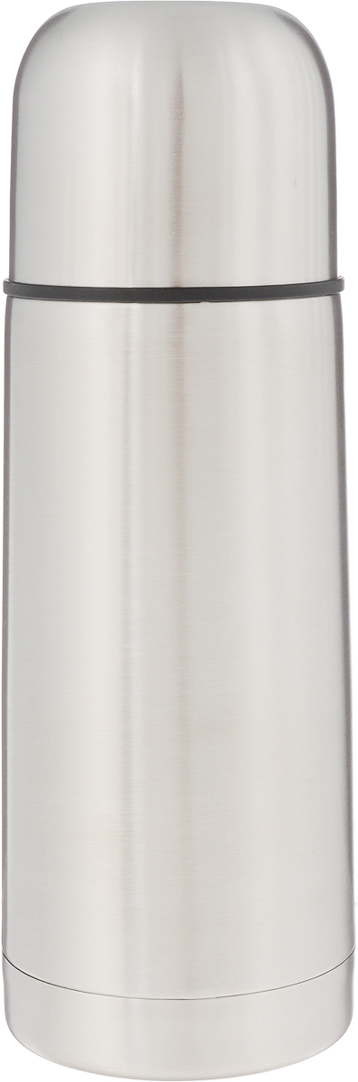 Термос Arctix, 350 мл. 336-07035336-07035Термос Arctix изготовлен из высококачественной нержавеющей стали. Двухслойный корпус сохраняет температуру на срок до 24 часов. Термос предназначен для горячих и холодных напитков. Герметичная закручивающаяся крышка-пробка предохраняет от проливаний. Крышку можно использовать как чашку. Стильный металлический термос понравится абсолютно всем и впишется в любой интерьер кухни.Диаметр горлышка: 4,5 см.Диаметр основания термоса: 6,5 см.Высота термоса: 19,5 см.