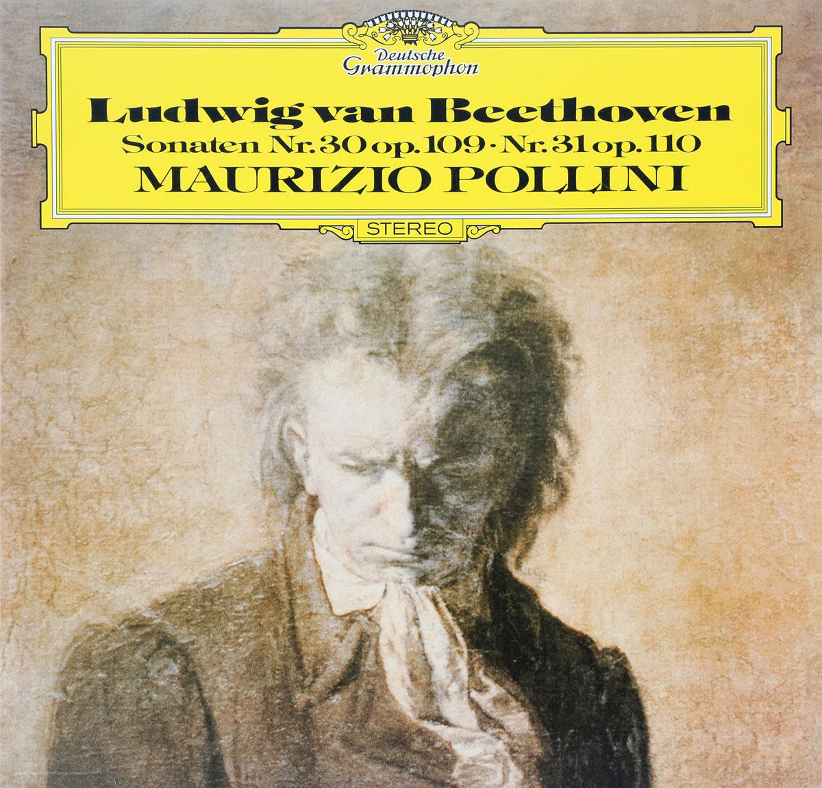 Маурицио Поллини Maurizio Pollini. Beethoven. Piano Sonatas Nos.30 & 31 (LP) pollini w beethoven
