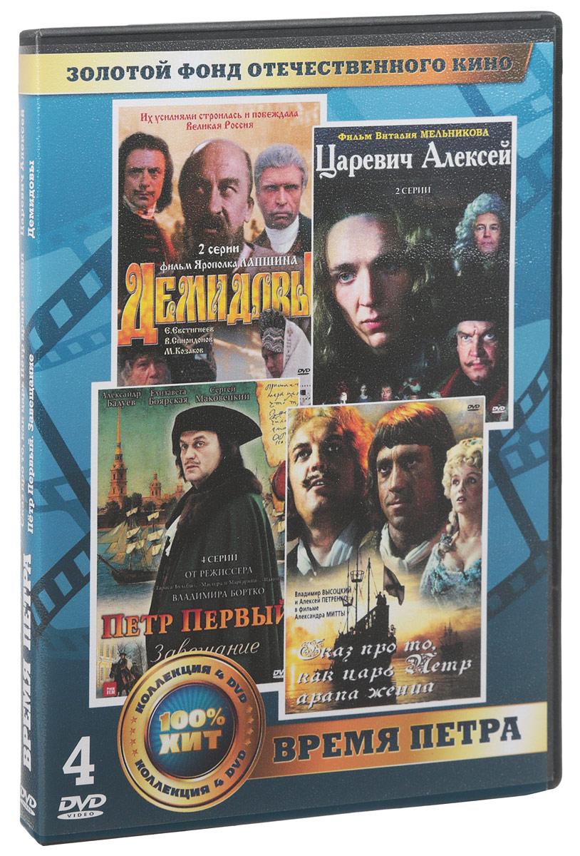 Фото Время Петра (4 DVD)