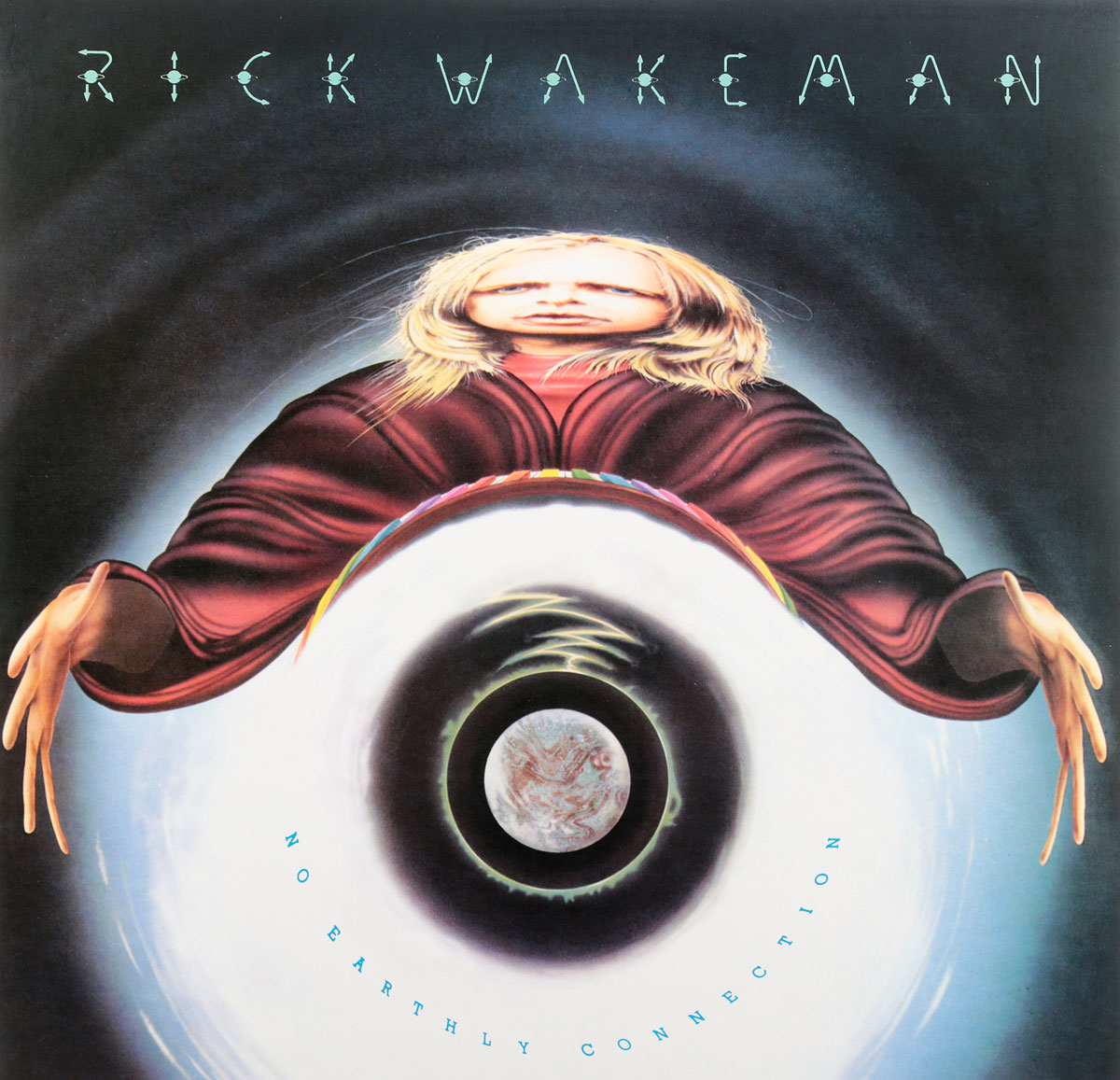 Рик Уэйкман Rick Wakeman. No Earthly Connection (LP)