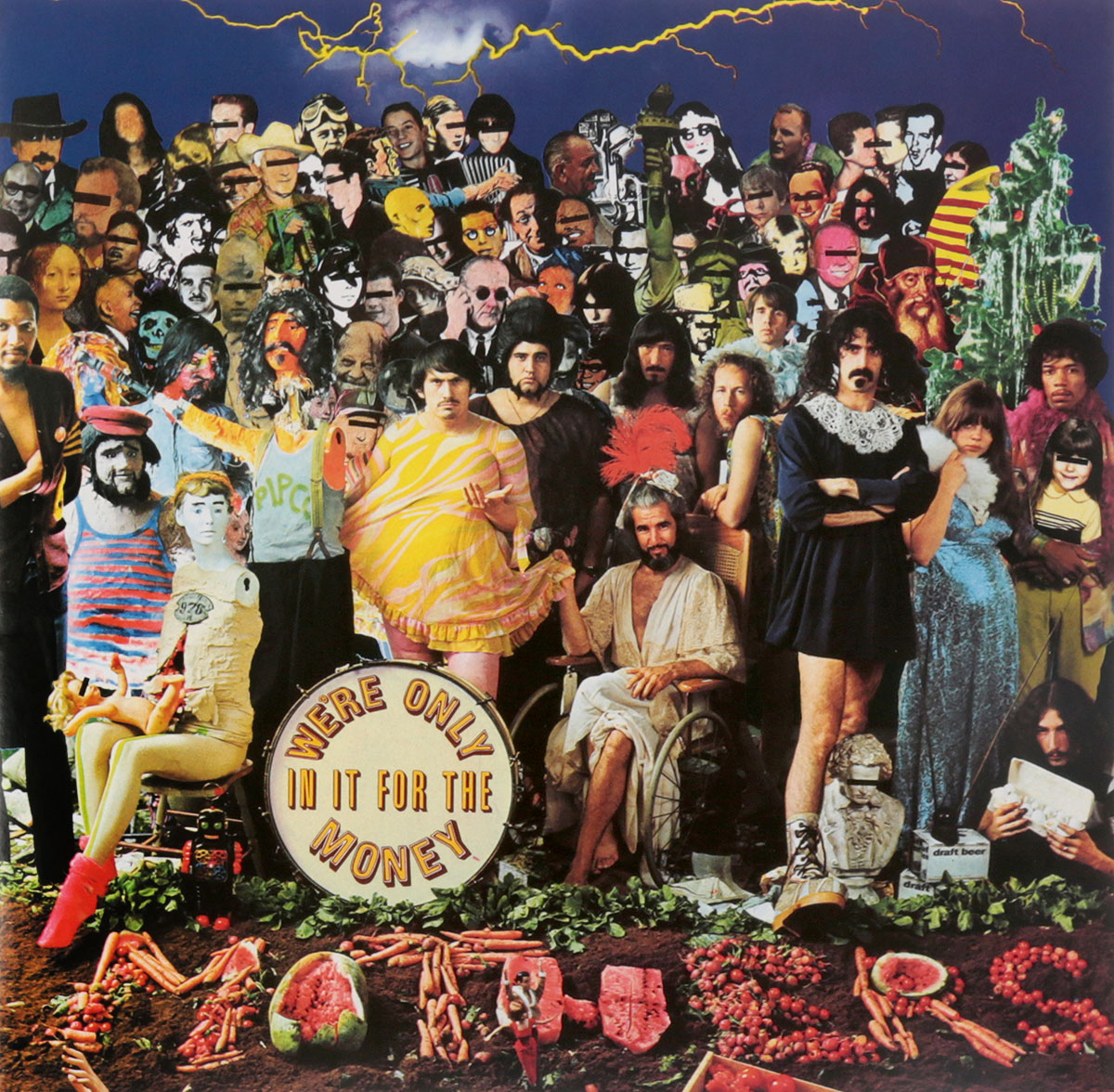 Frank Zappa. We're Only In It For The Money (LP) demand for money in nigeria