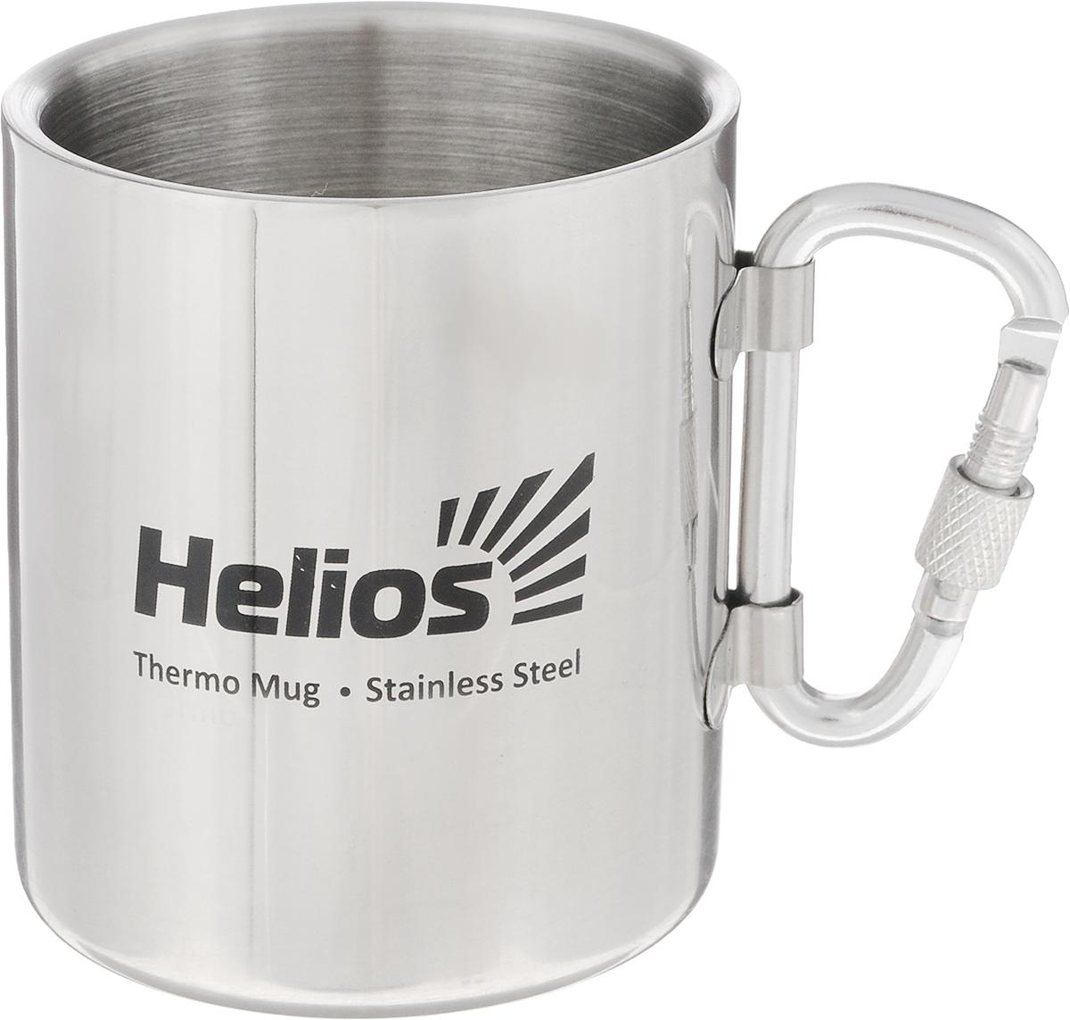 Термокружка HeliosHS TK-005, со складной ручкой-карабином,230 мл стул helios hs 065l