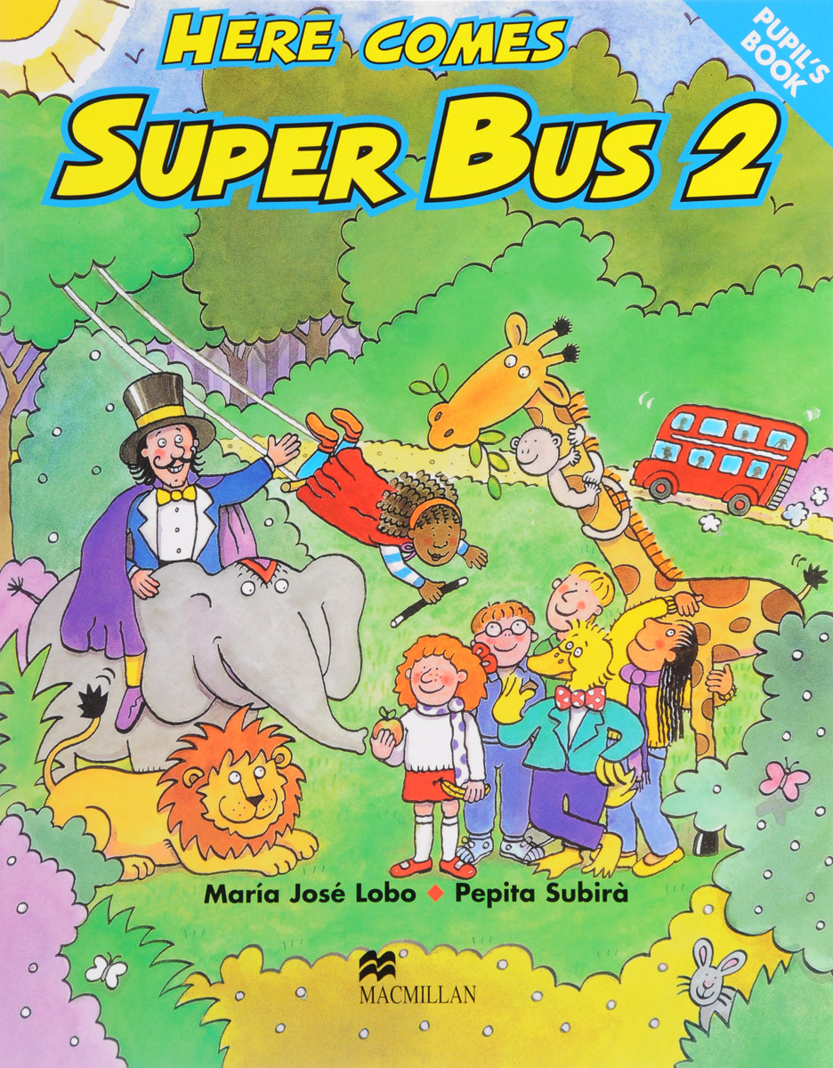 Here Comes Super Bus: 2 meg comes to school