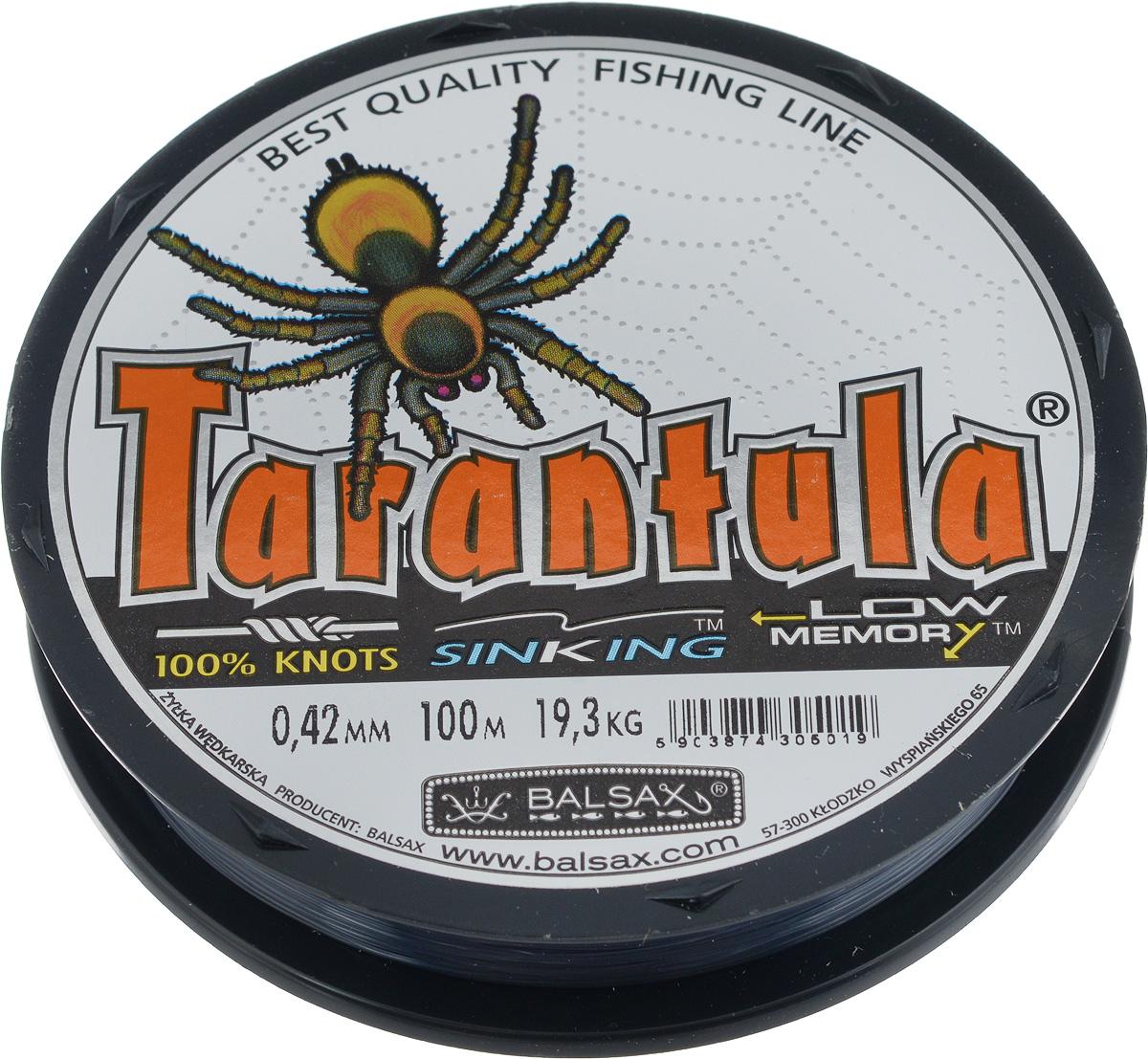 "Леска Balsax ""Tarantula"", 100 м, 0,42 мм, 19,3 кг"