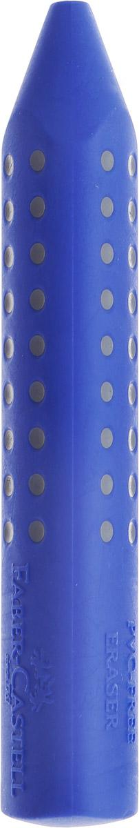 Faber-Castell Ластик Grip 2001 цвет синий187101Ластик Faber-Castell Grip 2001 станет незаменимым аксессуаром на рабочем столе не только школьника или студента, но и офисного работника.Аккуратный ластик эргономичной формы не оставляет грязных разводов. Кроме того высококачественный ластик не повреждает бумагу даже при многократном стирании.