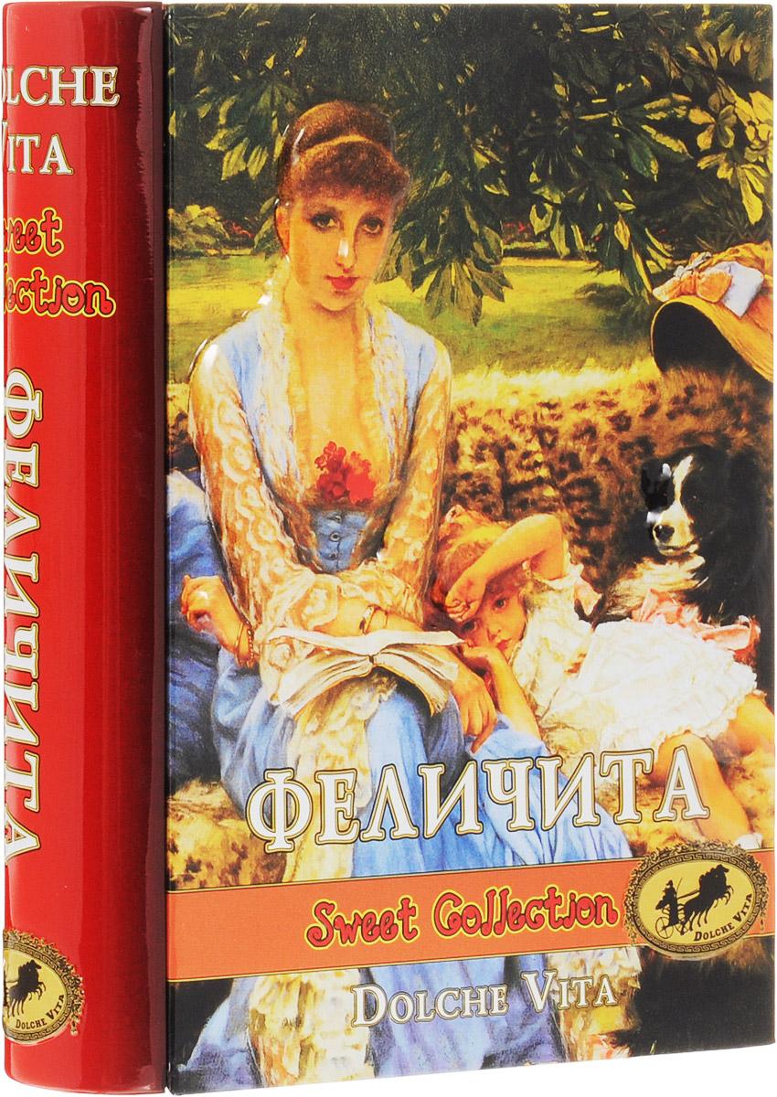 Dolche Vita Феличита элитный ароматизированный черный листовой чай, 100 г (подарочная шкатулка) dolche vita сhalong пу эр чай листовой 100 г