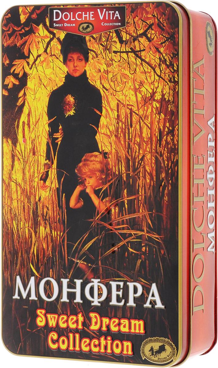 Dolche Vita Монфера подарочный набор черного листового чая, 175 г amore de bohema для самой дорогой подарочный набор листового чая 400 г