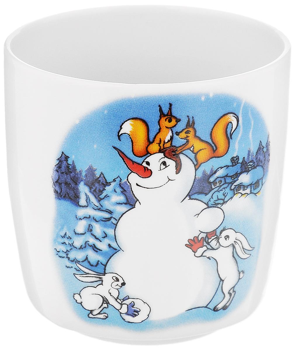 Стакан Фарфор Вербилок Снеговик с белками и зайчиками, 210 мл28782140_снеговик, белки, зайчикиСтакан Фарфор Вербилок Снеговик с белками и зайчиками изготовлен из высококачественного фарфора. Он прекрасно подойдет для горячих и холодных напитков. Такой стакан отлично дополнит вашу коллекцию кухонной посуды и порадует вас ярким дизайном и практичностью. Диаметр стакана по верхнему краю: 7 см. Высота стенки: 7,5 см.