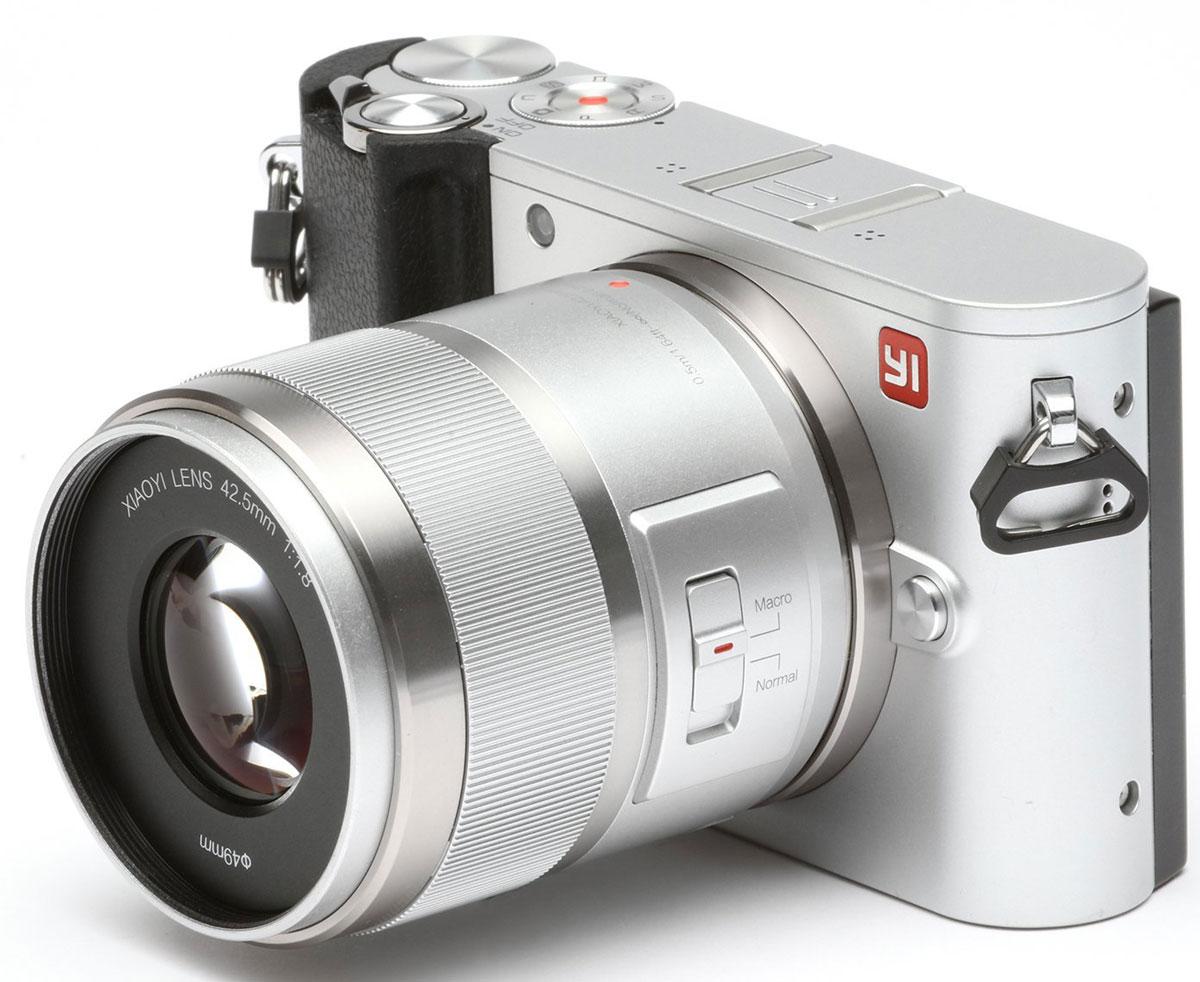 Xiaoyi Yi M1 42.5mm F/1.8, Silver цифровая фотокамера - Цифровые фотоаппараты