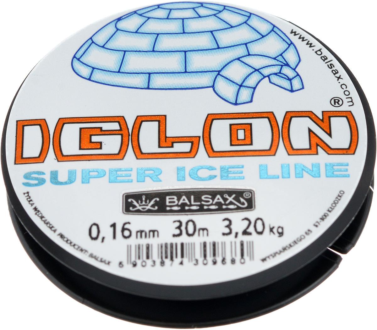 Леска зимняя Balsax Iglon, 30 м, 0,16 мм, 3,2 кг312-06016Леска Balsax Iglon изготовлена из 100% нейлона и очень хорошо выдерживаетнизкие температуры. Даже в самом холодном климате, при температуре вплотьдо -40°C, она сохраняет свои свойствапрактически без изменений, в то время как традиционные лески становятся менееэластичными и теряют прочность. Поверхность лески обработана таким образом, что она не обмерзает и отличноподходит для подледного лова. Прочна вместах вязки узлов даже при минимальном диаметре.