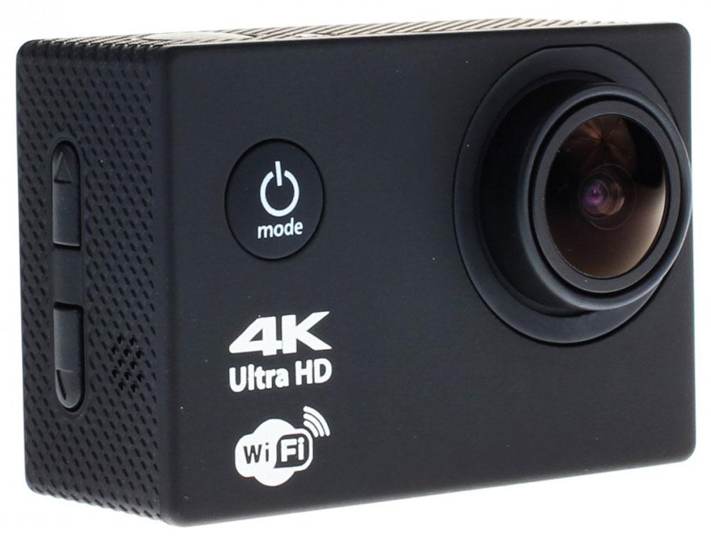 Prolike 4K PLAC001BK, Black экшн-камера6928431230275Экшн-камера Prolike 4K - это маленькая эргономичная видеокамера, созданная специально для спортсменов-экстремалов, мечтающих снять на видео самые яркие моменты своих приключений.Обычная видеокамера не выдерживает сложных условий съемки, скорости, перепадов температур, тогда как экшн-камера Prolike 4K благодаря конструктивным особенностям и техническим характеристикам легко справляется с этими задачами.Важным преимуществом камеры является маленький вес и миниатюрные габариты, способствующие фиксации устройства на теле спортсмена, не стесняя свободы движений. Для установки камеры предусмотрены дополнительные аксессуары и крепления, которыми комплектуется камера.Прочность и надежность при высоких нагрузках обеспечивает влагозащитный и противоударный корпус камеры, а дополнительный защитный аквабокс предназначен для подводных съемок.Как выбрать экшн-камеру. Статья OZON Гид