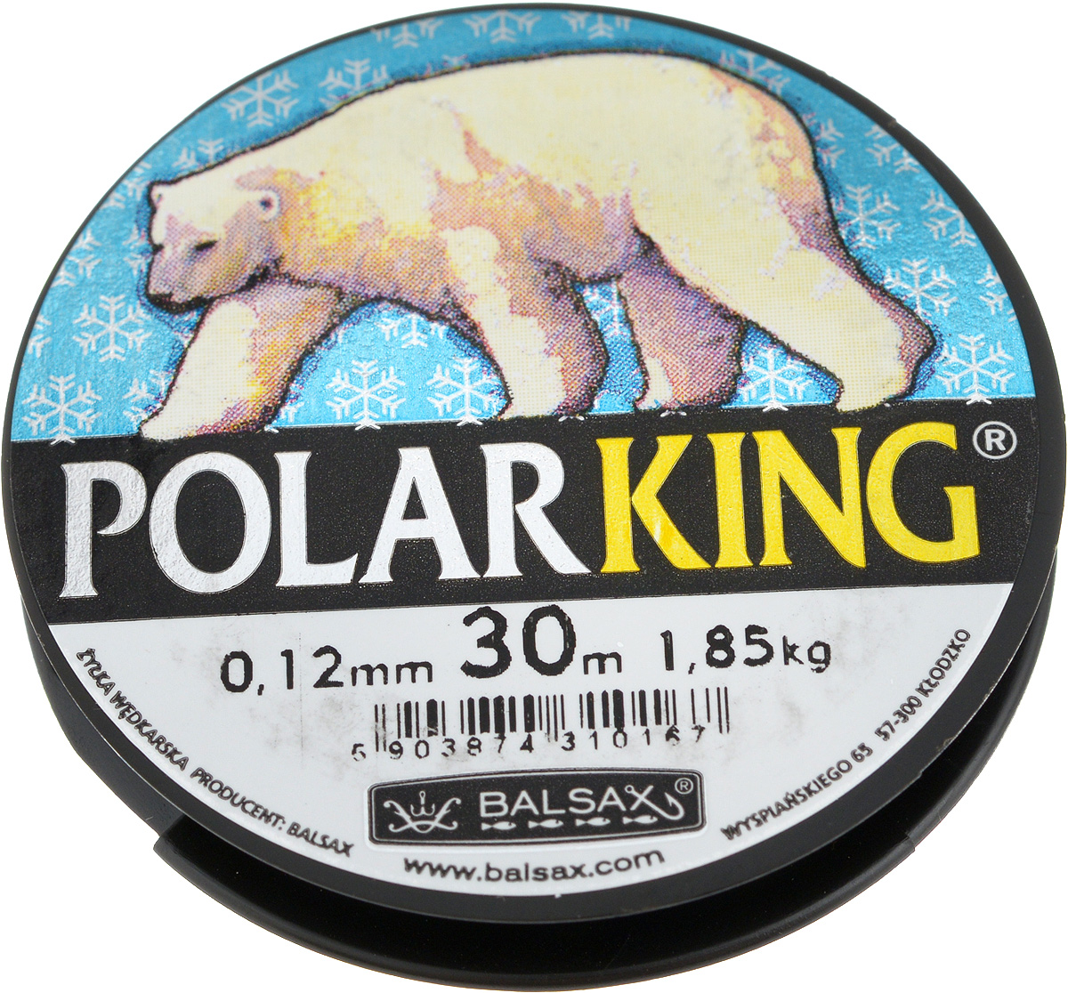Леска зимняя Balsax Polar King, 30 м, 0,12 мм, 1,85 кг стилус polar pp001