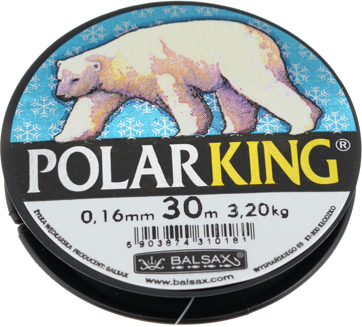 Леска зимняя Balsax Polar King, 30 м, 0,16 мм, 3,2 кг310-13016Леска Balsax Polar King изготовлена из 100% нейлона и очень хорошо выдерживаетнизкие температуры. Даже в самом холодном климате, при температуре вплотьдо -40°C, она сохраняет свои свойствапрактически без изменений, в то время как традиционные лески становятся менееэластичными и теряют прочность. Поверхность лески обработана таким образом, что она не обмерзает и отличноподходит для подледного лова. Прочна вместах вязки узлов даже при минимальном диаметре.