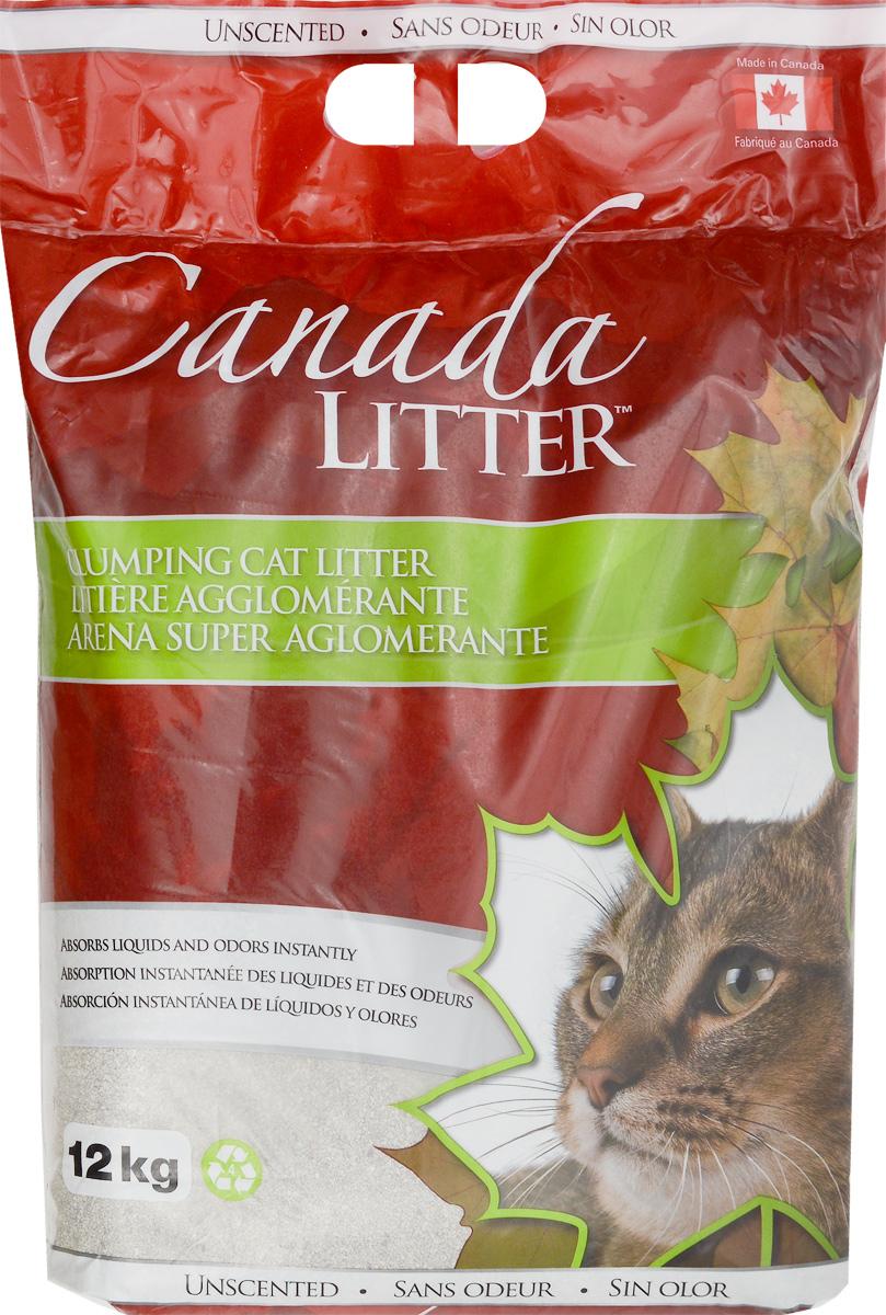 Наполнитель для кошачьих туалетов Canada Litter Запах на замке, комкующийся, без запаха, 12 кг24515Комкующийся наполнитель Canada Litter Запах на замке - канадский наполнитель супер-премиум класса, изготовленный из натриевого бентонита. Преимущества наполнителя Canada Litter Запах на замке:- впитывает 350% влаги (в 3,5 раза больше собственного веса),- специальные гранулы напоминают кошке ее естественную среду,- обладает высокой впитывающей и комкующей способностью,- бентонит - высококачественная глина, которая быстро поглощает запахи, легко комкуется в большие твердые комочки и весьма экономична в расходовании.Товар сертифицирован.