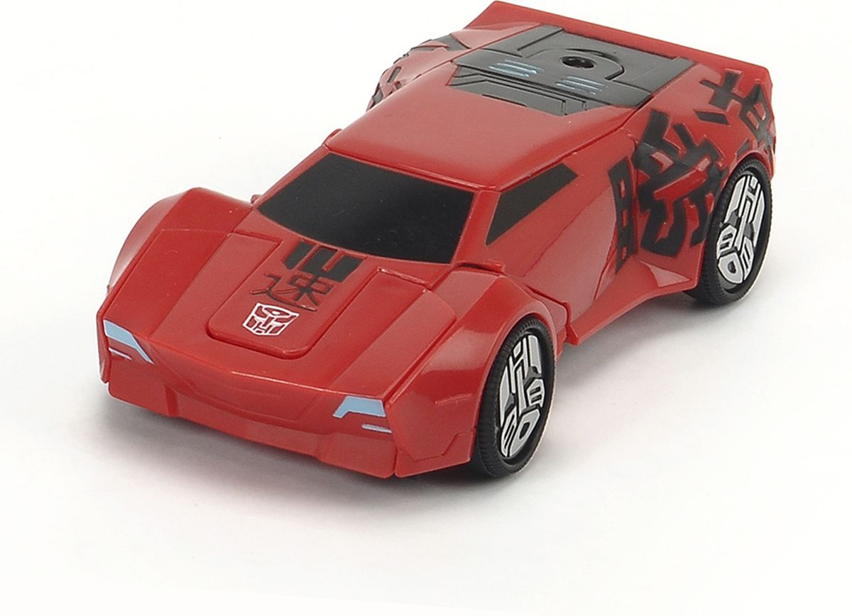 Dickie Toys Машинка-трансформер Sideswipe transformers трансформер combiner force great byte & sideswipe