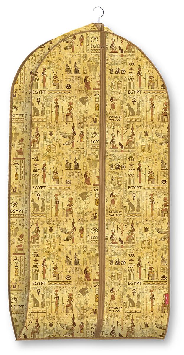 Чехол для одежды Valiant Egypt, объемный, 60 х 100 х 10 см