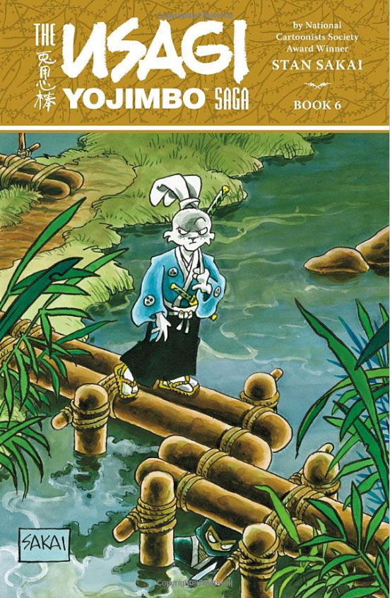 Usagi Yojimbo Saga: Volume 6 usagi yojimbo book 5 lone goat and kid