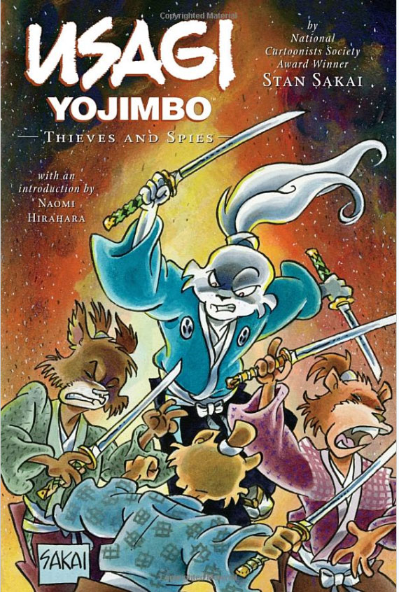 Usagi Yojimbo: Volume 30: Thieves and Spies usagi yojimbo volume 31 the hell screen