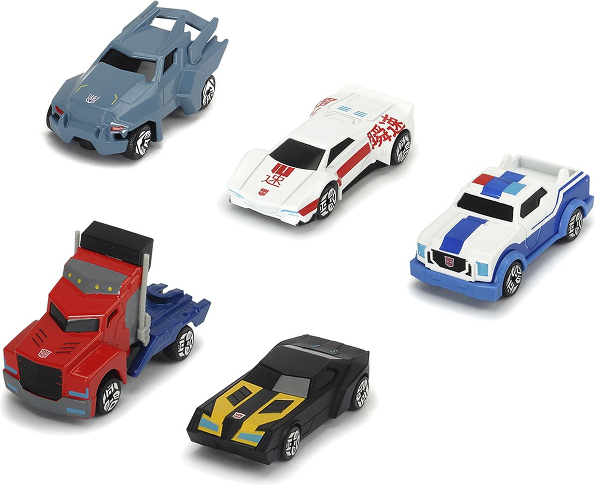 Dickie Toys Набор машинок Автоботы 5 шт robots in disguise 1 step changers