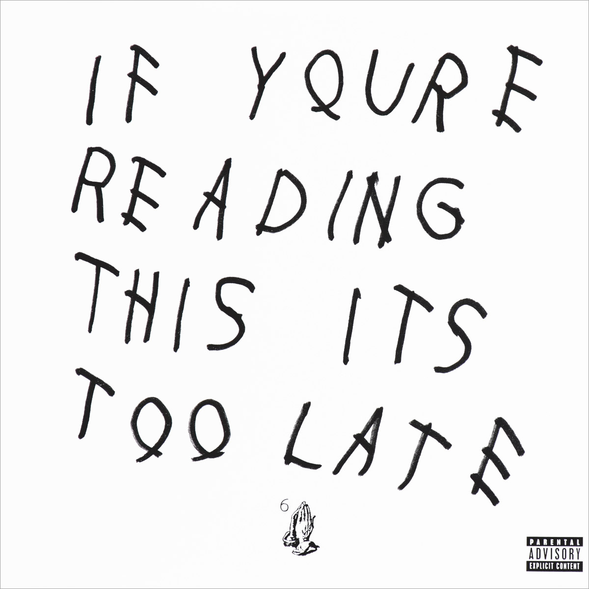 Drake Drake. If You're Reading This It's Too Late (2 LP) too slow to disco 3 2 lp