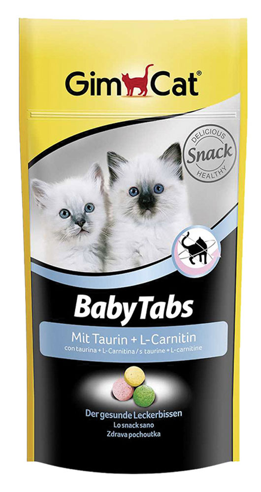 Таблетки для котят GimCat Baby-Tabs, с таурином и карнитином, 40 г (114 шт) пантокрин пантея таблетки 0 23 г 40 шт