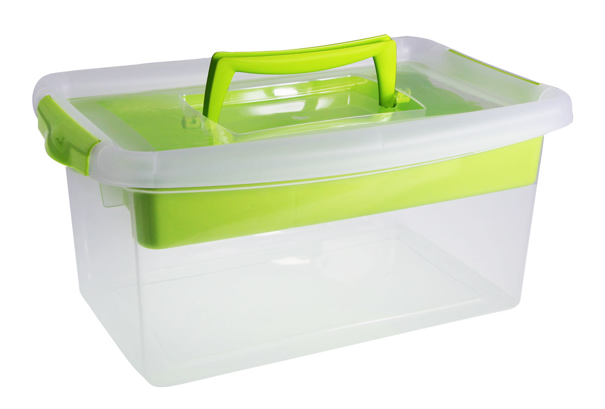Контейнер для хранения Idea, с вкладышем, цвет: салатовый, 29 x 13 x 18 смМ 2873_салатовыйКонтейнер для хранения Idea выполнен из высококачественного пластика. Контейнер снабжен двумя пластиковыми фиксаторами по бокам, придающими дополнительную надежность закрывания крышки, и вкладышем. Вместительный контейнер позволит сохранить различные нужные вещи в порядке, а герметичная крышка предотвратит случайное открывание, защитит содержимое от пыли и грязи. Объём контейнера: 4 л. Размер вкладыша: 24 х 15 см.