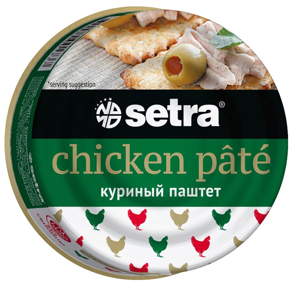 Setra паштет куриный,100 г setra паштет утиный 100 г