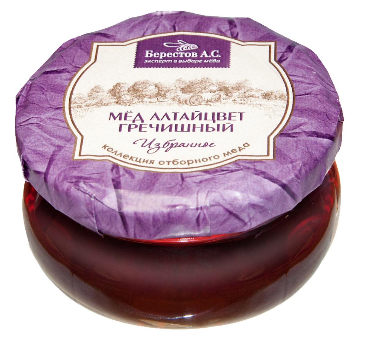Берестов Мед Гречишный, 100 г избранное кожа