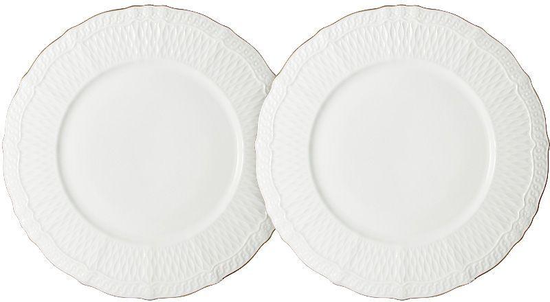 Набор десертных тарелок Colombo Бьянка, диаметр 20,5 см, 2 шт. C2-AP/2-K4815ALC2-AP/2-K4815ALНабор Colombo Бьянка состоит из двух десертных тарелок, выполненных из высококачественного костяного фарфора. Тарелки имеют круглую форму, края волнистые. Такой набор украсит сервировку стола и порадует вас изящным дизайном.