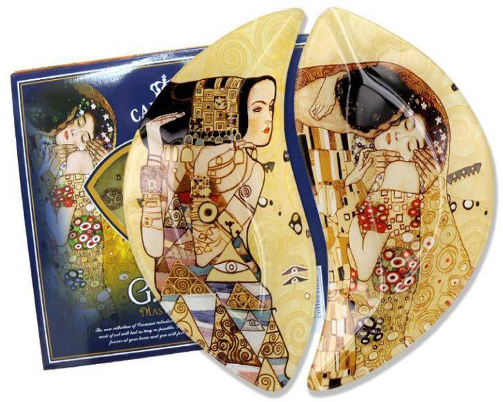 Набор тарелок Carmani Ожидание/Поцелуй (Г. Климт), 21,5х12 см, 2 штCAR198-7023-ALТорговая марка Carmani (Польша) известна с XIX века. Основатель марки, Престон Кармани, принадлежал к высшему свету Европы, известному своими прогрессивными идеями и тягой к искусству.Конкурентными преимуществами марки Carmani является высокое качество продукции и неповторимый дизайн. Процесс разработки нового предмета представляет собой сочетание традиционных методов и современных компьютерных технологий. Следует отметить, что каждая серия кружек Carmani имеет яркую индивидуальность, оригинальный дизайн и отражает разные темы, связанные с развитием и культурой человечества. Стеклянные тарелки и карманные зеркала с изображением прекрасных дам с полотен известных художников, выпускаются ограниченным тиражом и имеют коллекционную ценность.