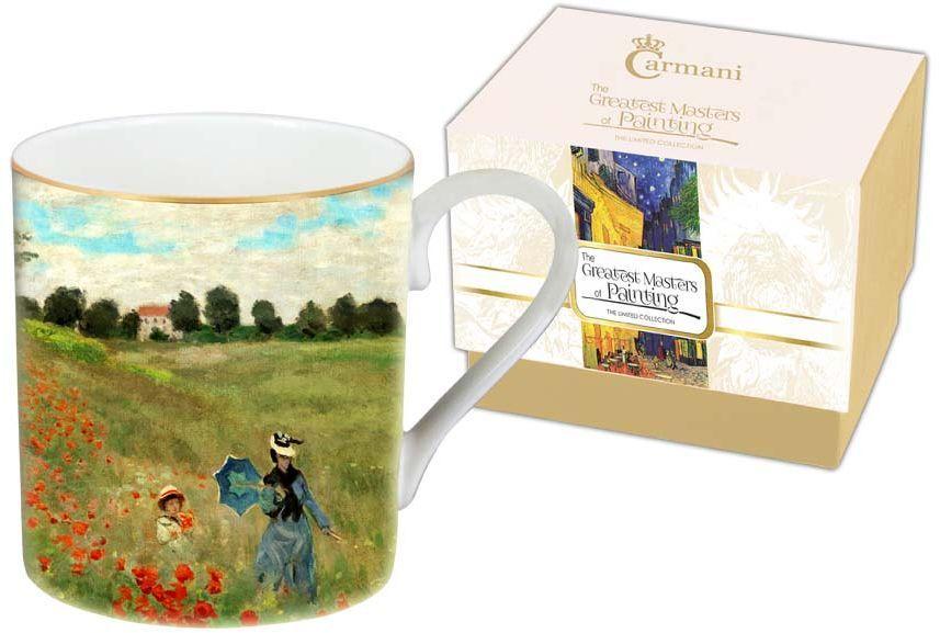 Кружка Carmani Маковое поле, 380 мл кружки carmani кружка за чашкой кофе 350мл carmani