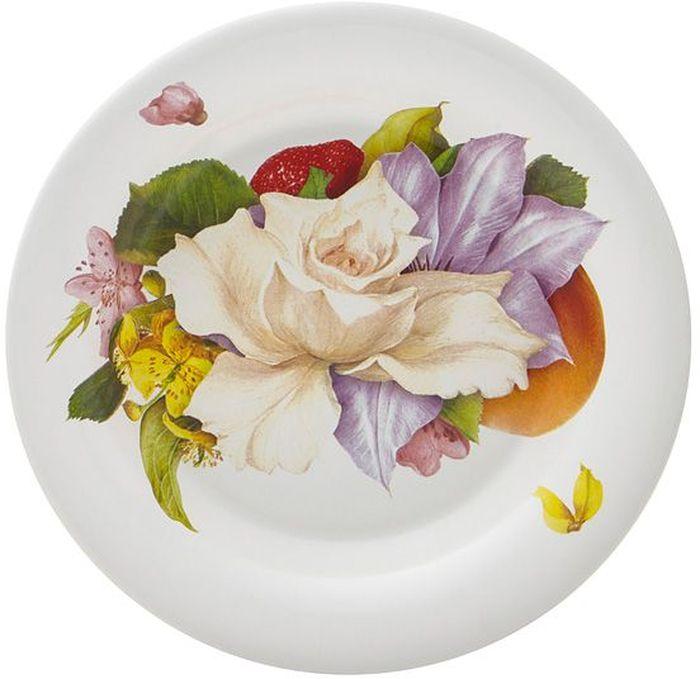 Тарелка суповая Ceramiche Viva Фреско, диаметр 24 см. CV2-T01-05048-ALCV2-T01-05048-ALТарелка обеденная Фреско выполнена из керамики с глазурованным покрытием. Керамическая посуда итальянской фабрики Ceramiche Viva известна не только своим превосходным качеством, но и удивительными, неповторимыми дизайнами, отличающими ее от любой другой керамической посуды.Помимо внешней привлекательности посуда Ceramiche Viva обладает и прекрасными практическими свойствами: посуду Ceramiche Viva можно мыть в посудомоечной машине и использовать в микроволновой печи. Не разрешается применять при мытье посуды абразивные порошки.
