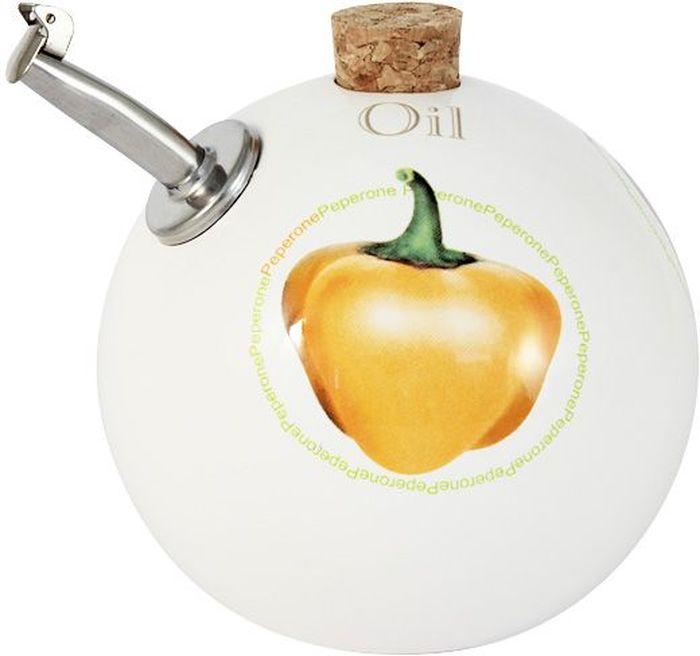 Бутылка для масла Ceramiche Viva Томаты и перцы, 0,4 л. CV2-T09-06021-ALCV2-T09-06021-ALБутылка для масла (круглая) 0.4л Томаты и перцыКерамическая посуда итальянской фабрики Ceramiche Viva известна не только своим превосходным качеством, но и удивительными, неповторимыми дизайнами, отличающими ее от любой другой керамической посуды. Невозможно относиться к изделиям Ceramiche Viva как к обычной посуде. Приобретя любую вещь из ассортимента Ceramiche Viva, вы украсите свой дом, доставите радость родным и близким, и ваш обычный ужин превратится в праздничный.Помимо внешней привлекательности посуда Ceramiche Viva обладает и прекрасными практическими свойствами: посуду Ceramiche Viva можно мыть в посудомоечной машине и использовать в микроволновой печи. Не разрешается применять при мытье посуды абразивные порошки. Поверхность изделий покрыта высококачественной глазурью, не содержащей свинца.